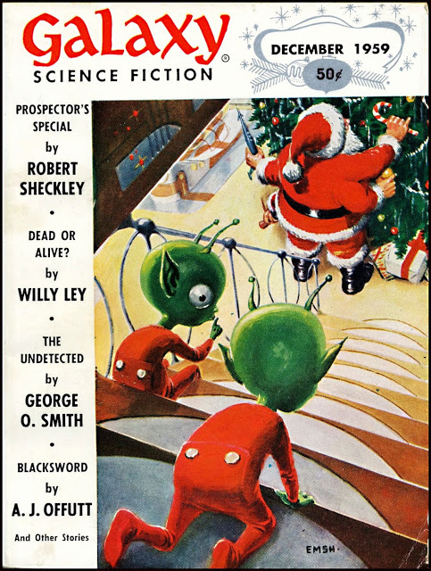 Galaxy Magazine - December 1959 - cover by Ed Emishwiller