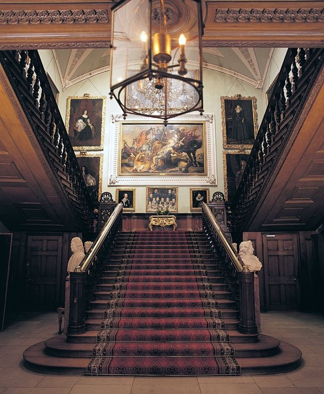 The Great Staircase at Landover Hall