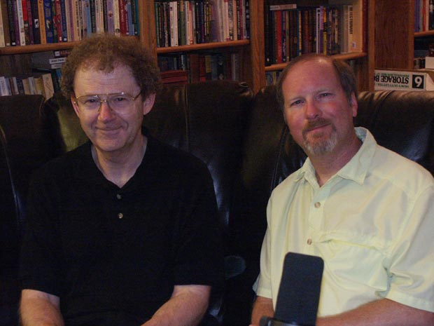 Brian Herbert and Kevin J. Anderson, image Copyright © Suzanne Gibson 2008