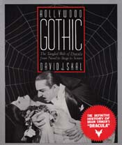 Cover for Hollywood Gothic.