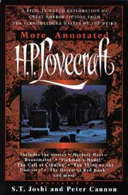 Cover for More Annotated H.P. Lovecraft.