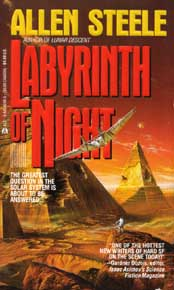 Cover for Labyrinth of Night - Copyright &copy 1992; Ace Books, All Rights Reserved. Art by Bob Eggelton.