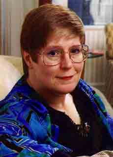 Lois McMaster Bujold, picture courtesy of Baen Books