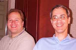 Bill Bottke and Dave Tholen