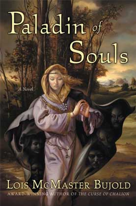 Cover for Paladin of Souls, cover copyright ©2003 by HarperCollins Publishers.