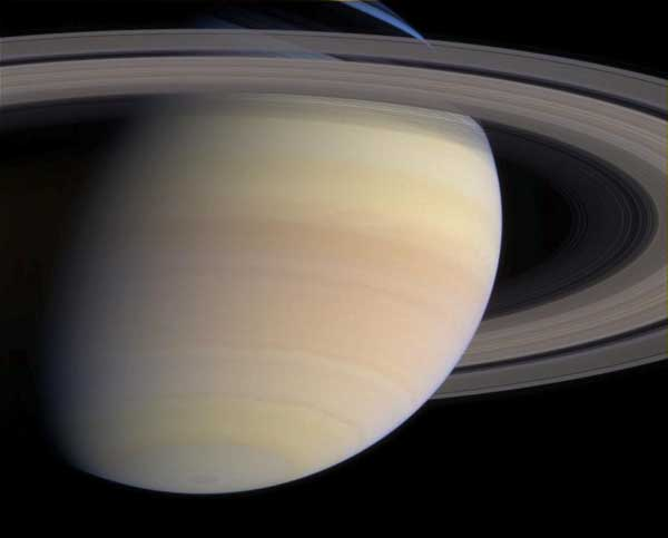 aturn, color closeup.  Image credit NASA/JPL.