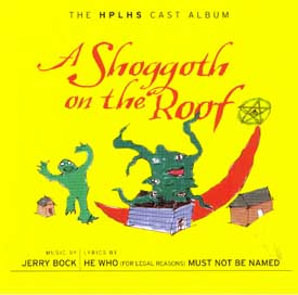 Cover for A Shoggoth on the Roof.  Click here to go to the web site where you can hear more music from this CD and buy a copy for yourself.
