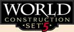 World Construction Set V5 logo.  Click here to see more information about WCS V5 from the 3D Nature web site.